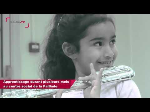Montpellier, La Paillade : Les enfants de DEMOS à l'Opéra Comédie