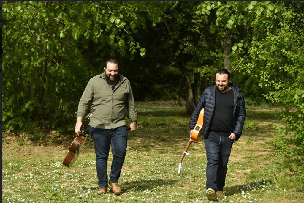 """José et Luis : """"C'était évident que nous devenions musiciens"""". Photo/Jean-Fabrice TIOUCAGNA"""