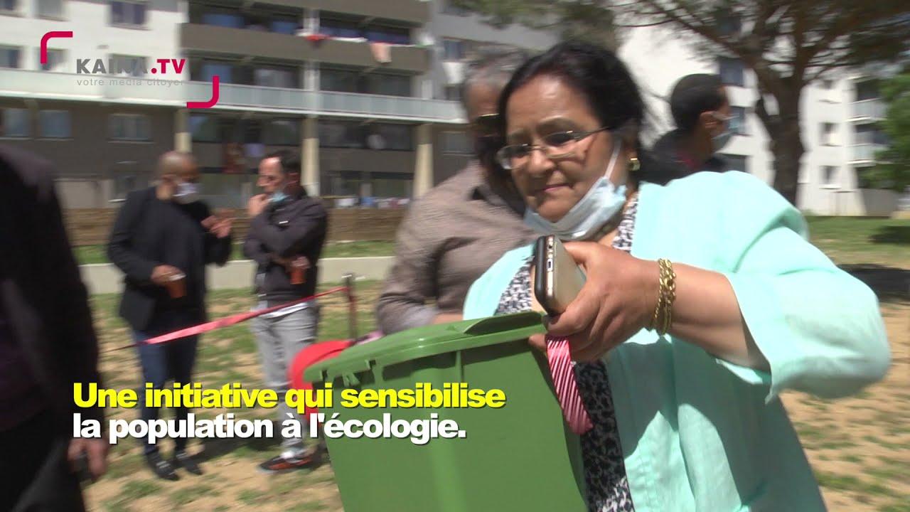La Paillade : Des bacs à compost pour le jardin.