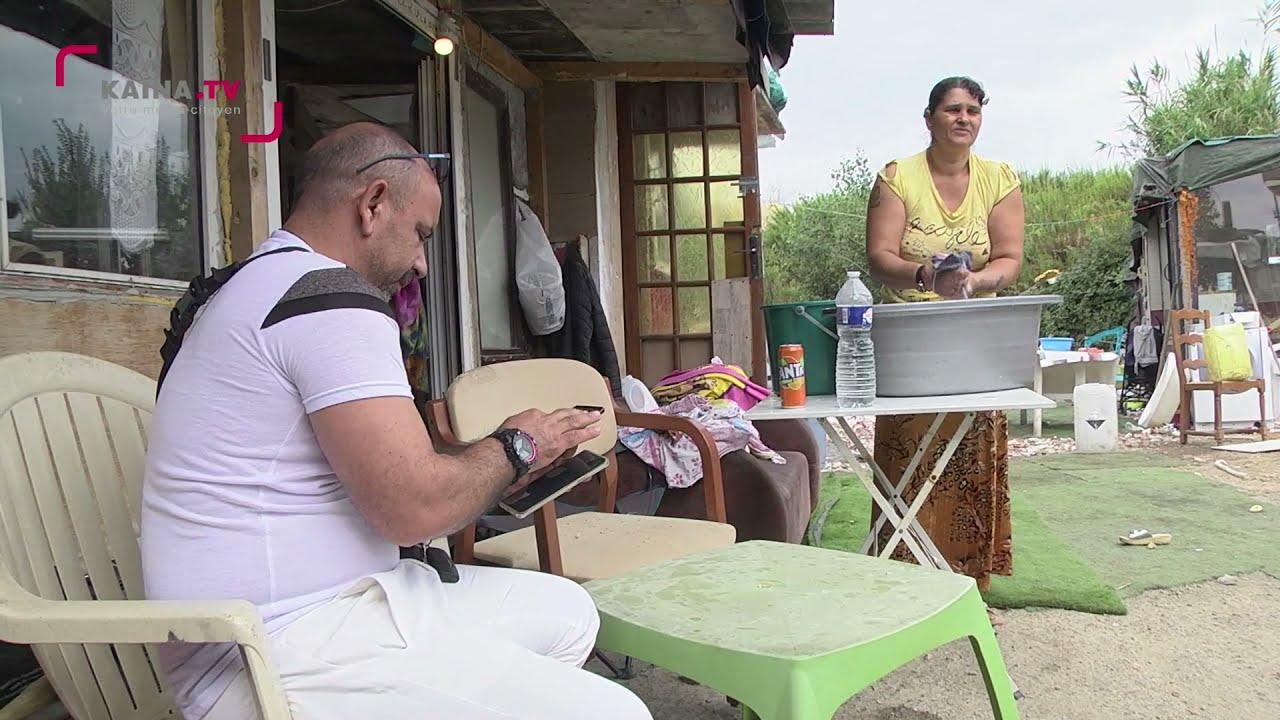 Montpellier/Celleneuve : Nos voisins les Roms.